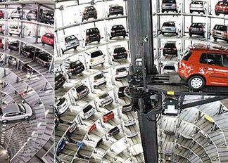 En China ya tienen un parking completamente robotizado