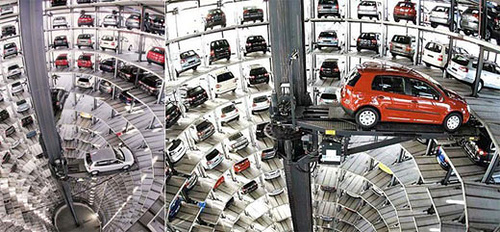En China ya tienen un parking completamente robotizado